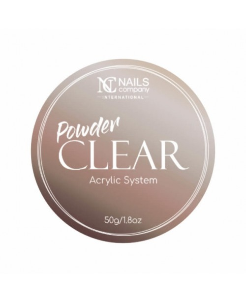 NC Nails Acrylic Powder Clear 50gr