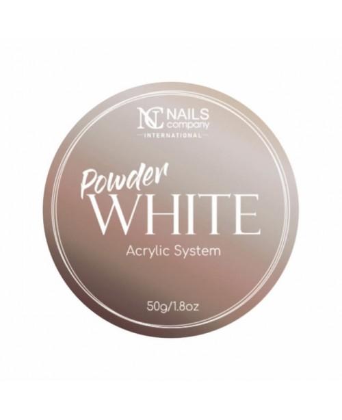 NC Nails Acrylic Powder White 50gr