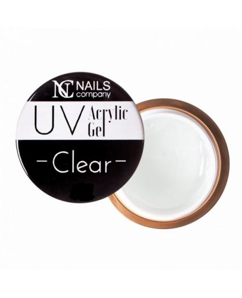 NC Nails Acrylic Gel Clear 50gr