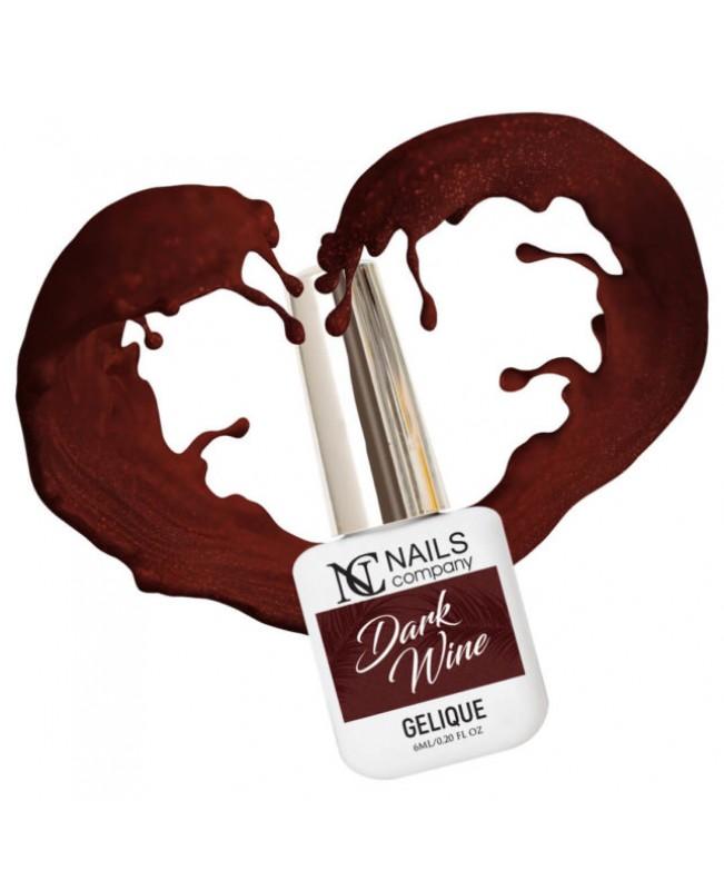Nc Nails Ημιμόνιμα Χρώματα Dark Wine 6ml