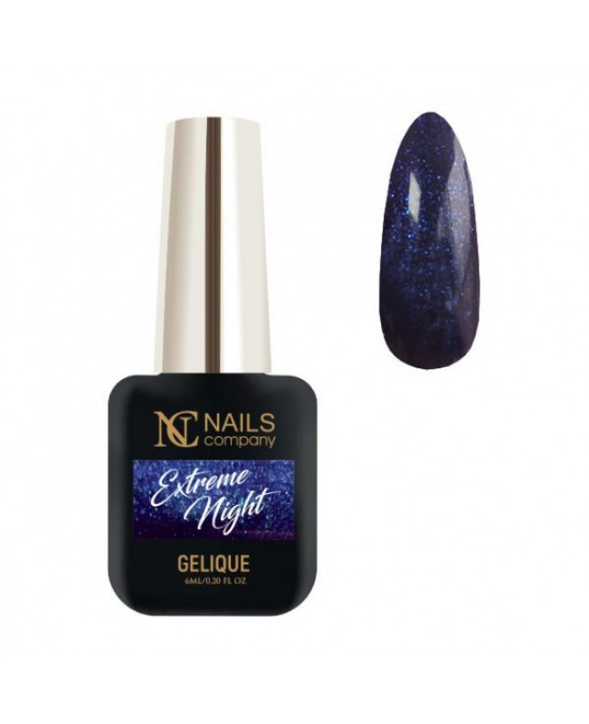 Nc Nails Ημιμόνιμα Χρώματα Extreme Night 6ml