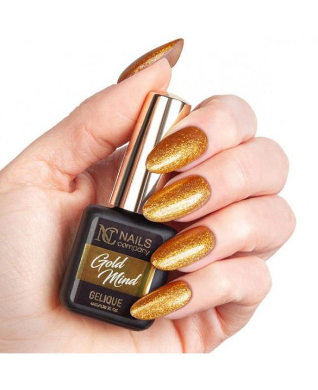 Nc Nails Ημιμόνιμα Χρώματα Gold Mind 6ml