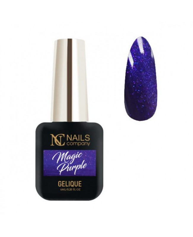 Nc Nails Ημιμόνιμα Χρώματα Magic Purple 6ml