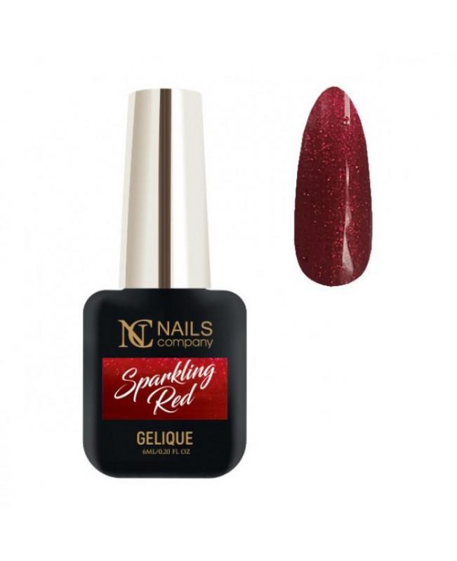 Nc Nails Ημιμόνιμα Χρώματα Sparkling Red 6ml