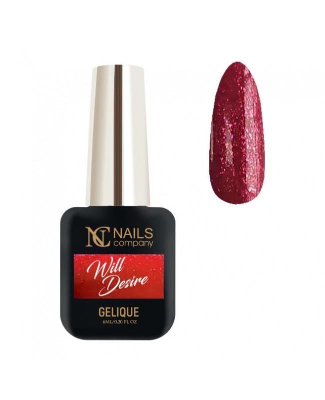 Nc Nails Ημιμόνιμα Χρώματα Will Desire 6ml