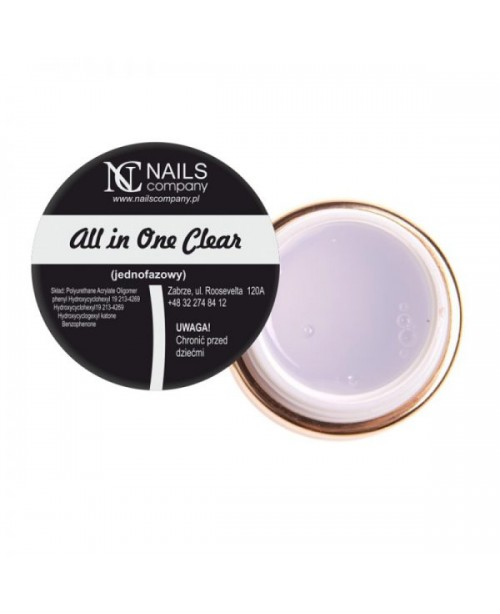 NC Nails Gel All In One  Clear 15gr