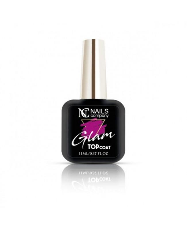 Nc Nails Glam Top Coat Pink 11ml