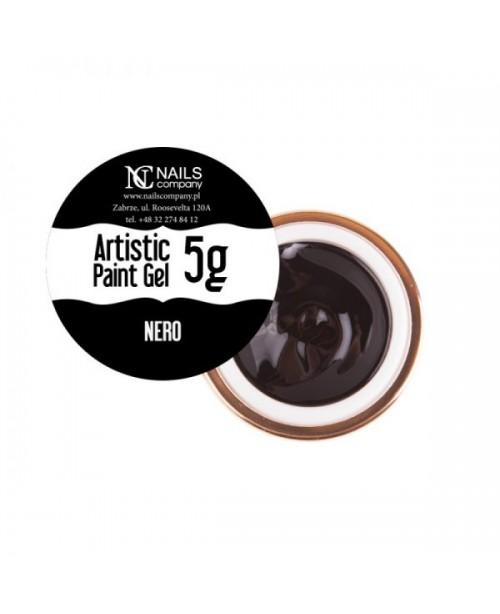 NC Nails Artistic Paint Gel Black 5gr