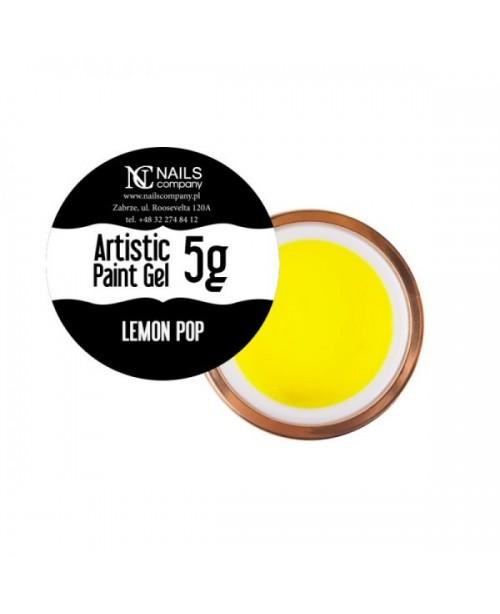 NC Nails Artistic Paint Gel Lemon Pop 5gr
