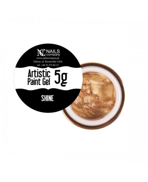 NC Nails Artistic Paint Gel Shine 5gr