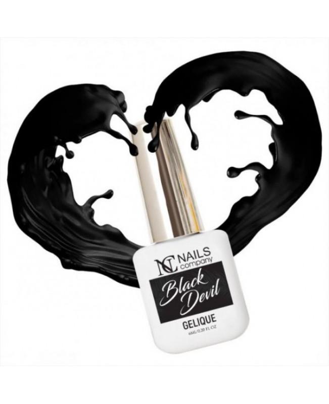 Nc Nails Ημιμόνιμα Χρώματα Black Devil 6ml
