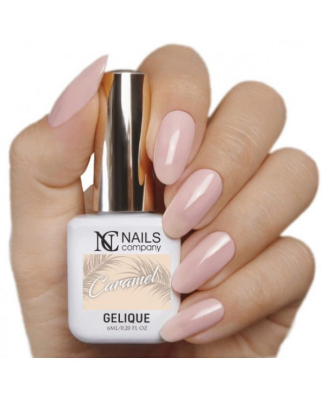 Nc Nails Ημιμόνιμα Χρώματα Caramel 6ml