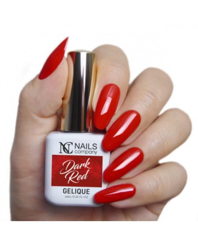 Nc Nails Ημιμόνιμα Χρώματα Dark Red 6ml
