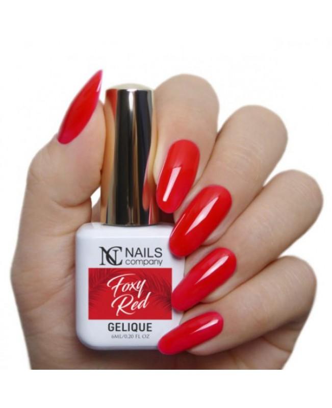 Nc Nails Ημιμόνιμα Χρώματα Foxy Red 6ml