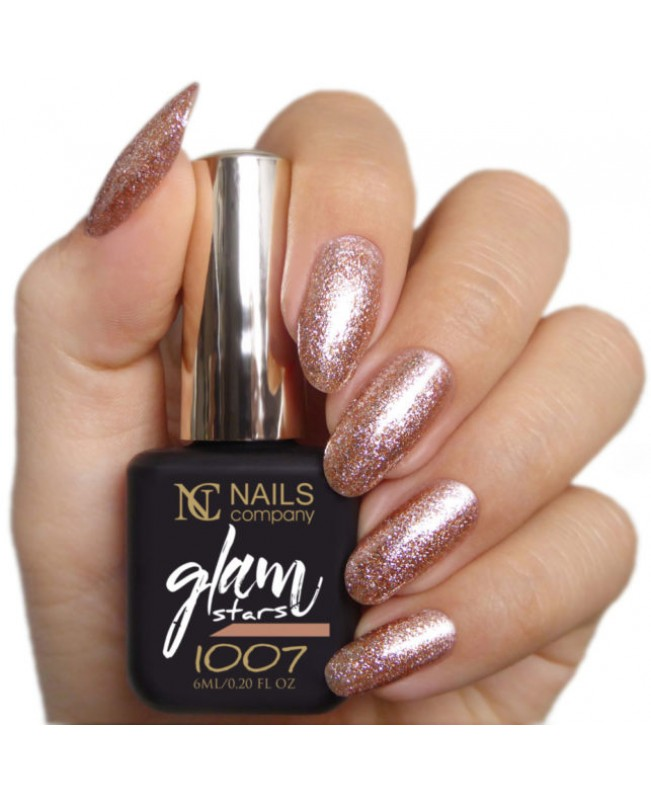 Nc Nails Ημιμόνιμα Χρώματα Glam Stars 1007 6ml