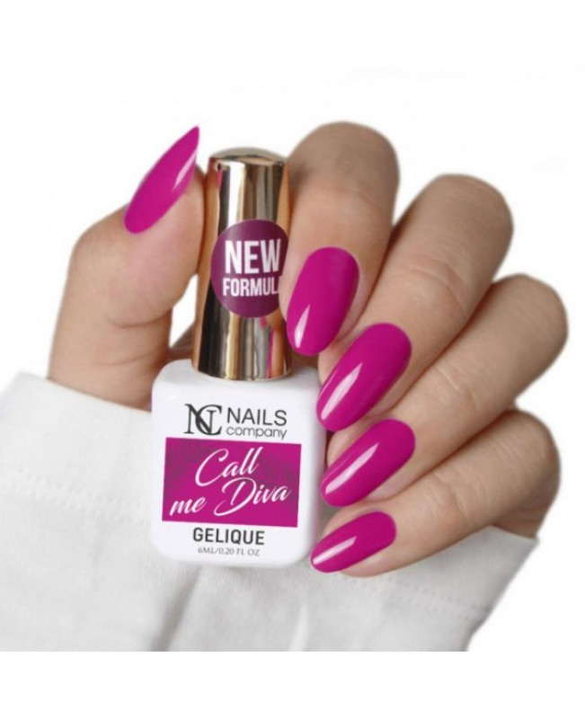 Nc Nails Ημιμόνιμα Χρώματα Call me Diva 6ml