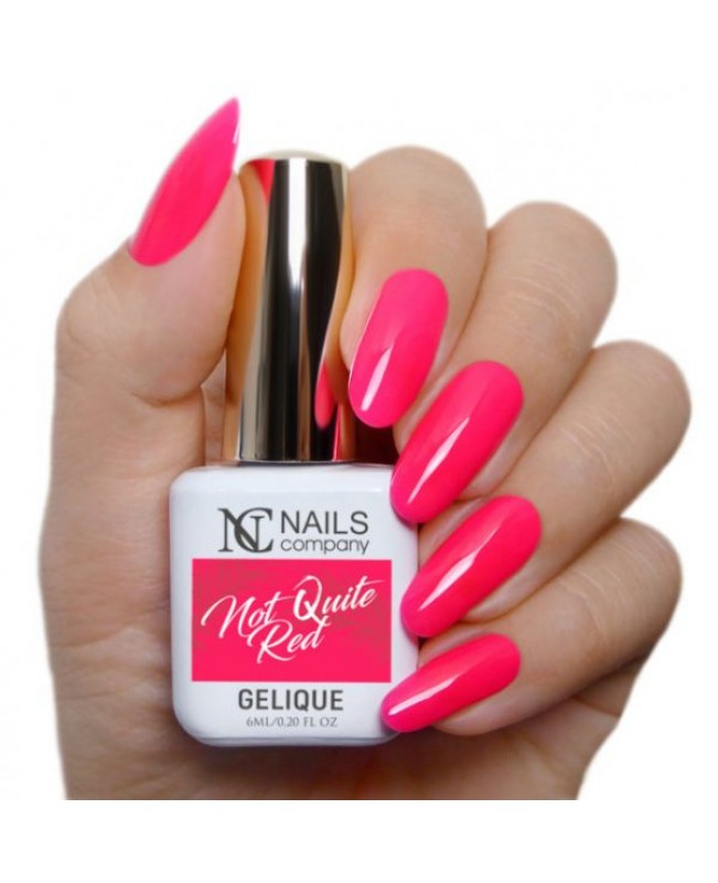 Nc Nails Ημιμόνιμα Χρώματα Not Quite Red 6ml