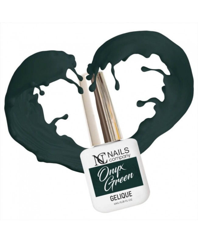 Nc Nails Ημιμόνιμα Χρώματα Onyx Green 6ml