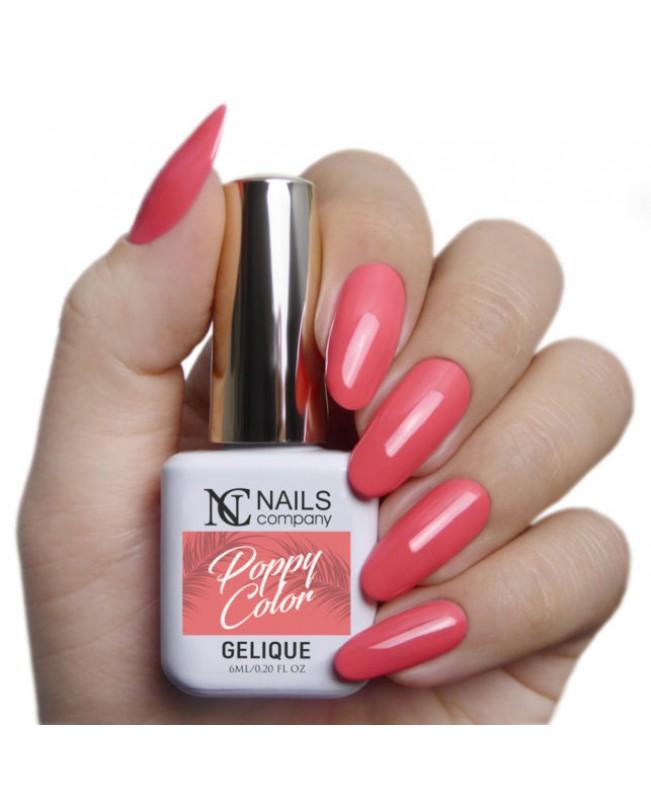 Nc Nails Ημιμόνιμα Χρώματα Poppy Color 6ml