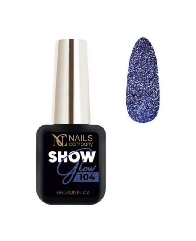 Nc Nails Ημιμόνιμα Χρώματα Show Glow 104 6ml