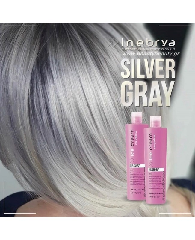 Inebrya Silver shampoo -Silver Mask
